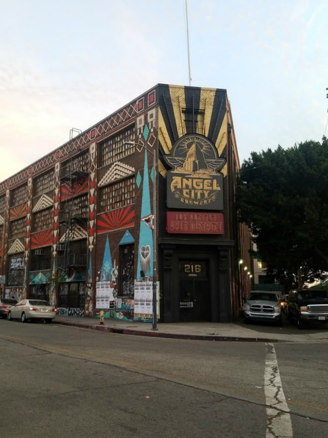 Baby Boomer Travel | Street Art | LA Arts District | Angel City Brewery