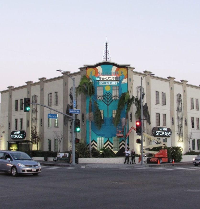 Baby Boomer Travel | Street Art | Los Angeles | Saf-Keep Storage Melrose and Western