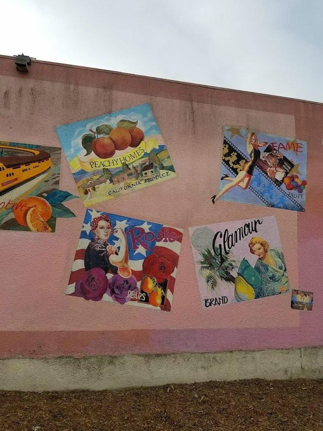 Baby Boomer Travel | Street Art | NOHO | Peaches and fruit