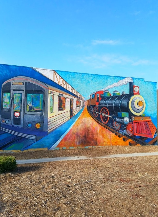 Baby Boomer Travel | Street Art | North Hollywood Metro