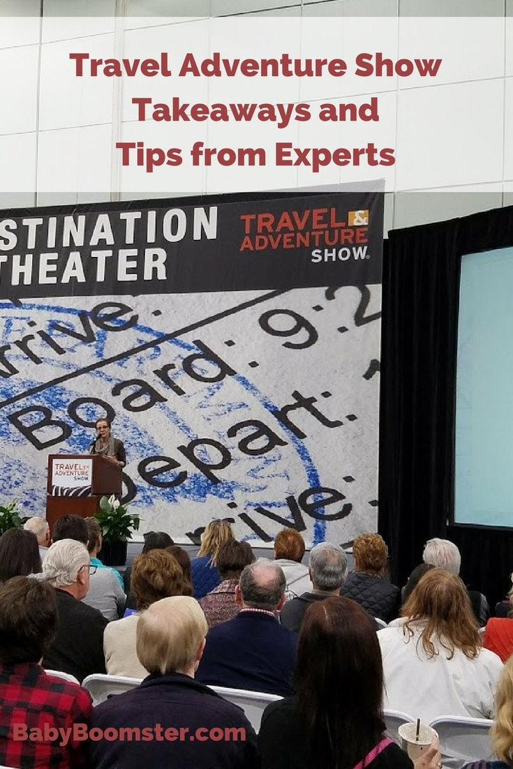 Travel Tips by Rick Steves and Patricia Schultz at the Travel Adventure Show