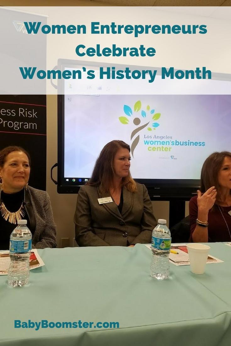 Women's History Month women entrepreneurs
