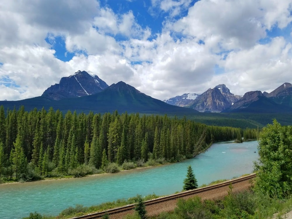 Bow Valley Parkway #viewpoint #Banff #CanadianRockies #Canada