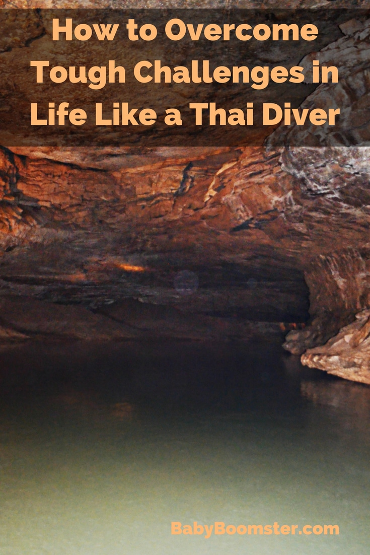 We can learn from the experience of divers who saved the boys trapped in a cave in Thailand how to overcome tough challenges