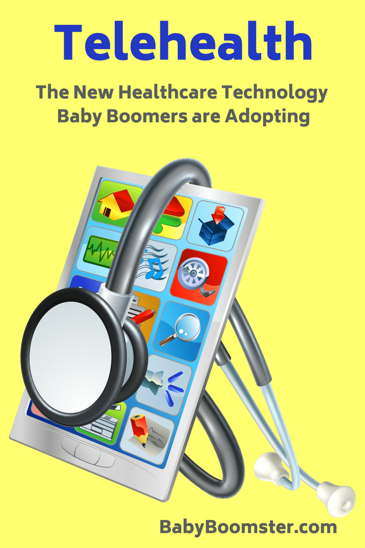 Baby Boomers are using Telehealth electronics to monitor their health and that of their elderly parents.