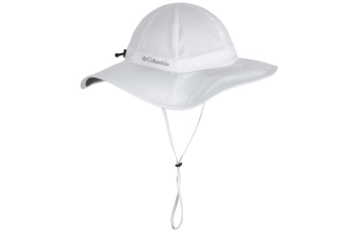 This Columbia Sun Hat is lightweight and will stay on even if it's windy
