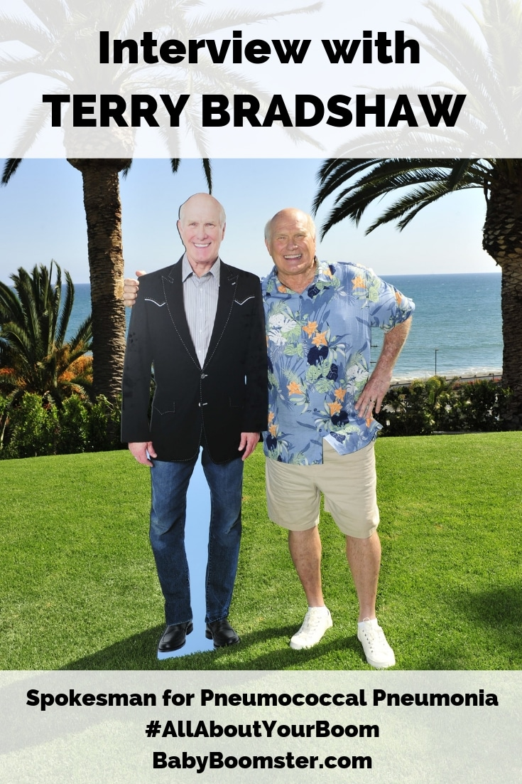 An interview with former pro football player and now broadcaster Terry Bradshaw who is the spokesman for pneumococcal pneumonia