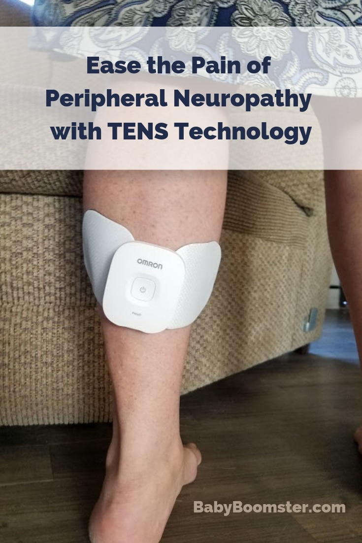 Rather than take drugs, you can ease the pain of peripheral neuropathy using TENS technology. #pain #OmronHealthcare #ad #drugfree