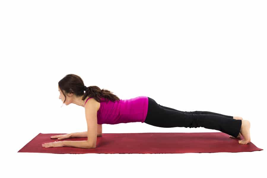Forearm plank exercise - Best strength training exercises over 50