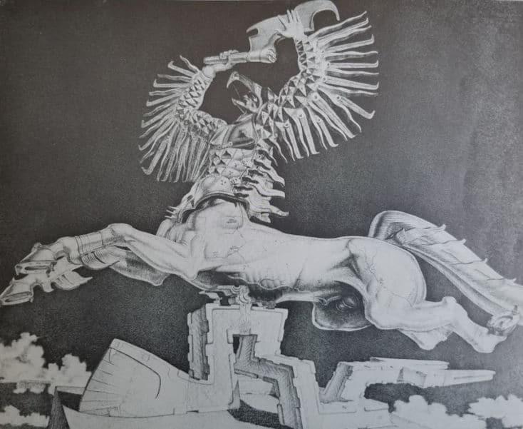 Polivarus by artist and sculptor Stanislav Szukalski