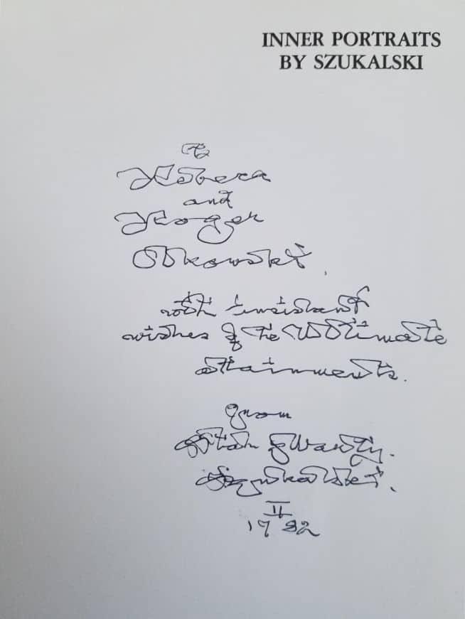 The unique handwriting of Stanislav Szukalski - Polish artist and sculptor