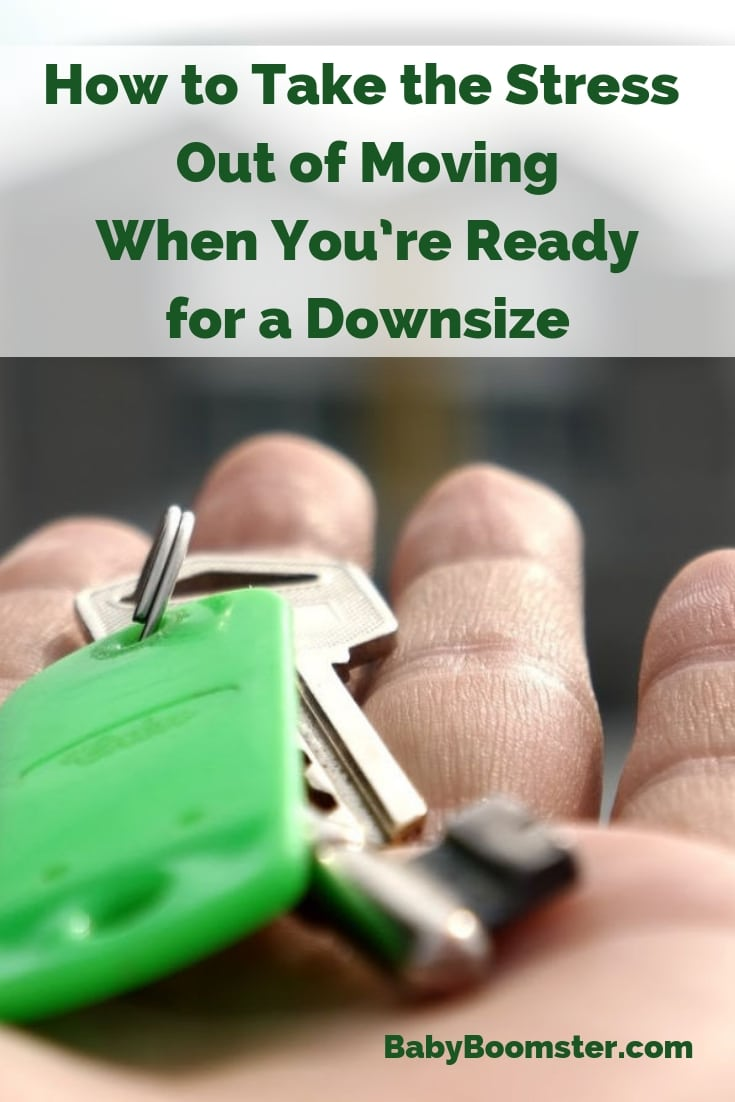Downsizing can be difficult emotionally. Here is how to take the stress out of it and make it easier.