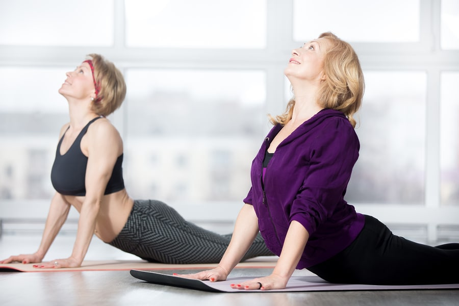 Cobra Pose -Will help if you are suffering from spinal cramps and other physical difficulties