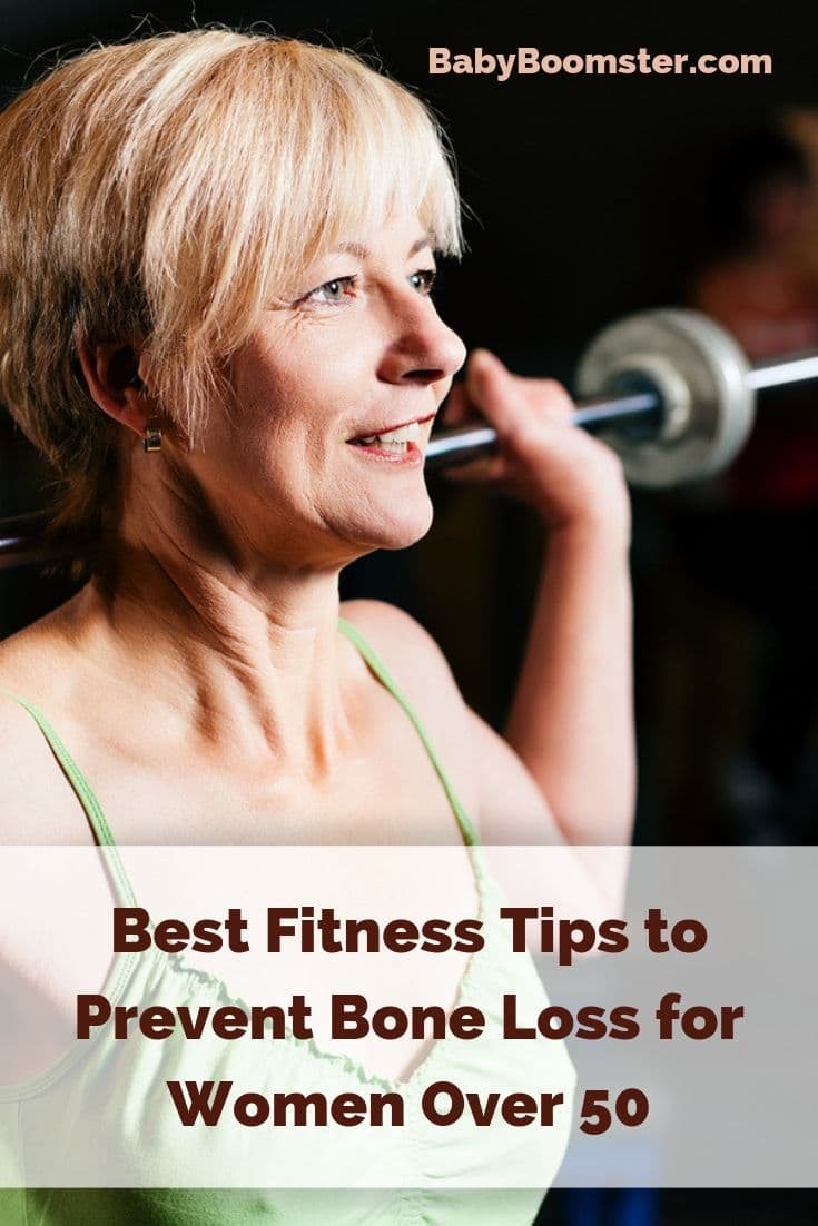 Bone loss is expected for women over 50 but some of it can be prevented by doing fitness activities and eating healthy food. Best tips to avoid osteoporosis.