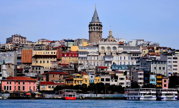 View of Istanbul - Photo by hilmi ceper from Pixabay