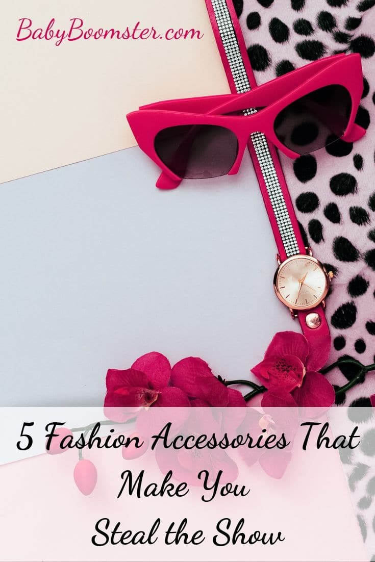Women over 50 can use fashion accessories to stand out and show off their personal style. Here are 5 accessories you may want to consider.