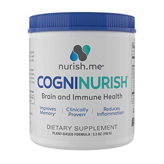 CogniNurish is a supplement to help treat cognitive and physical decline in people with Alzheimer's dementia.