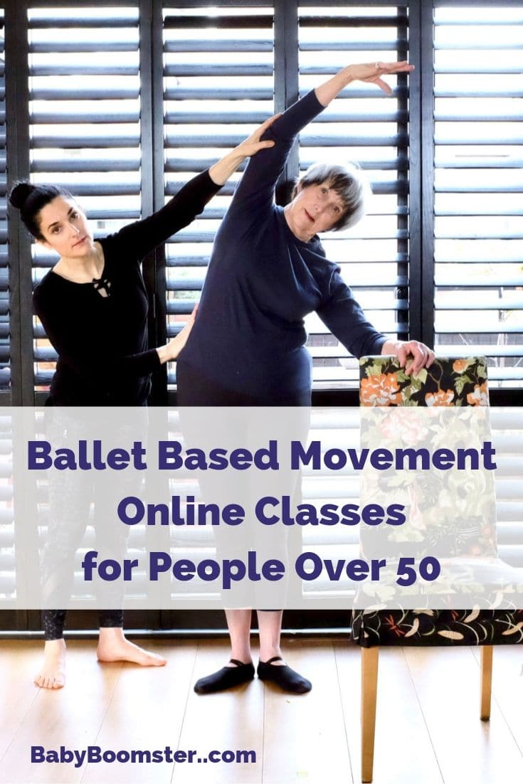 Ballet based movement for better aging and flexibility.