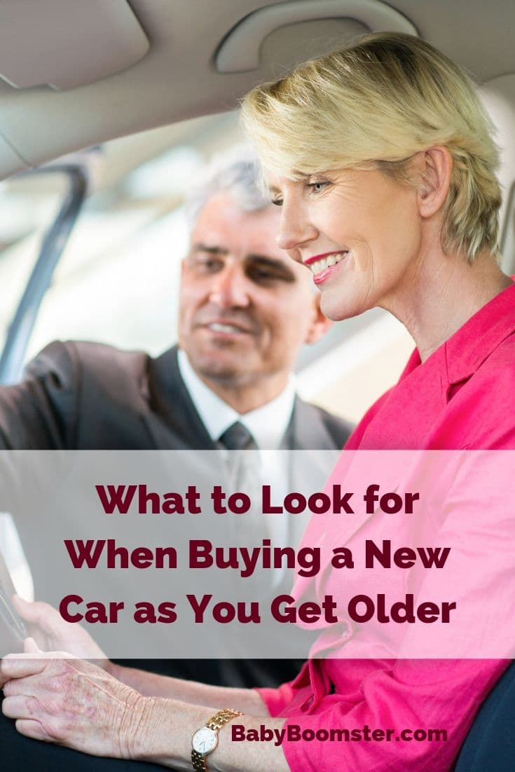 Baby Boomers who are considering buying a new car may want to think about certain considerations when deciding what make and model to purchase. This post will give you car buying tips for older people.