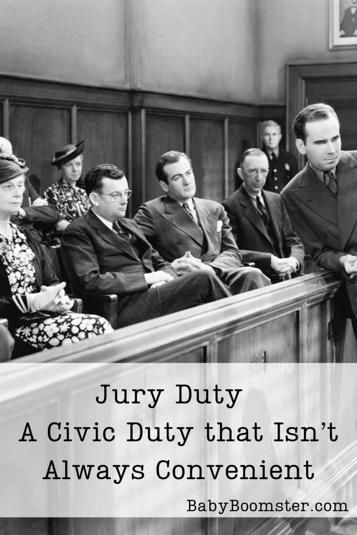 Jury Duty is important but sometimes it's inconvenient especially if you are self-employed or taking care of someone who is ill.
