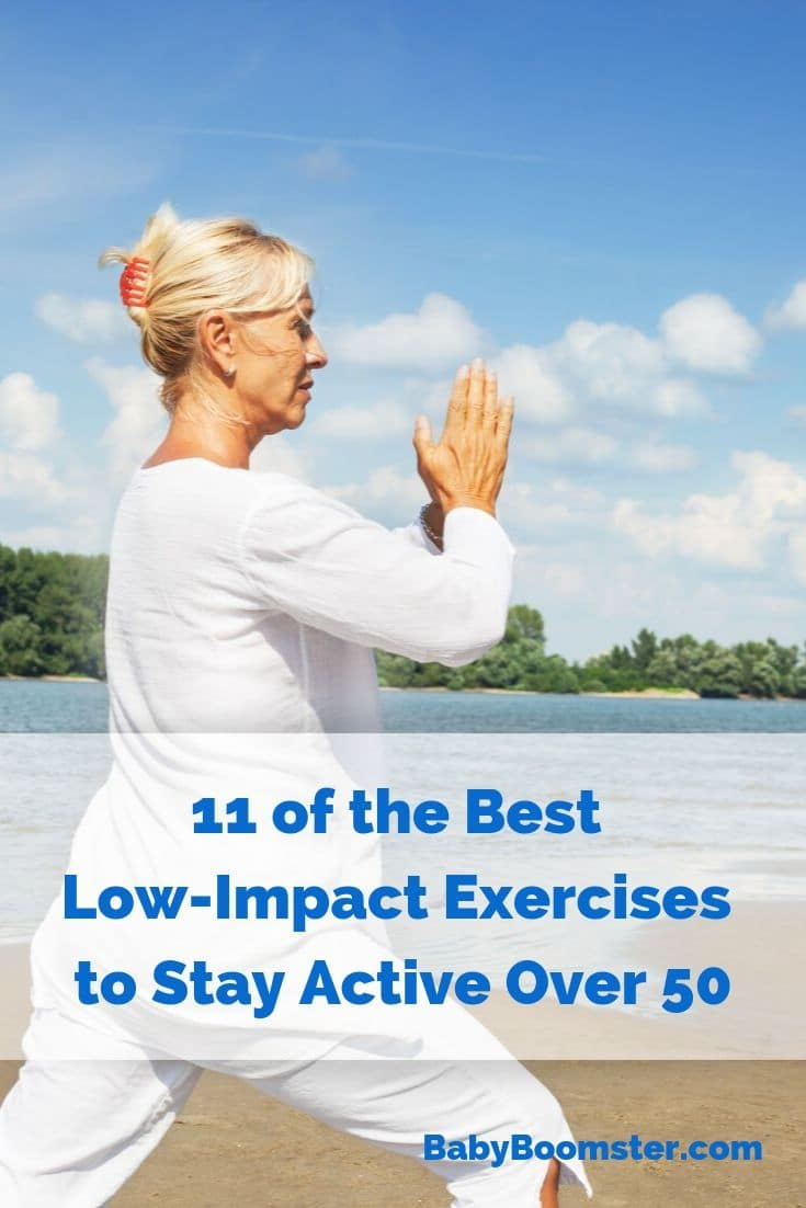 The benefits of low-impact exercises over 50