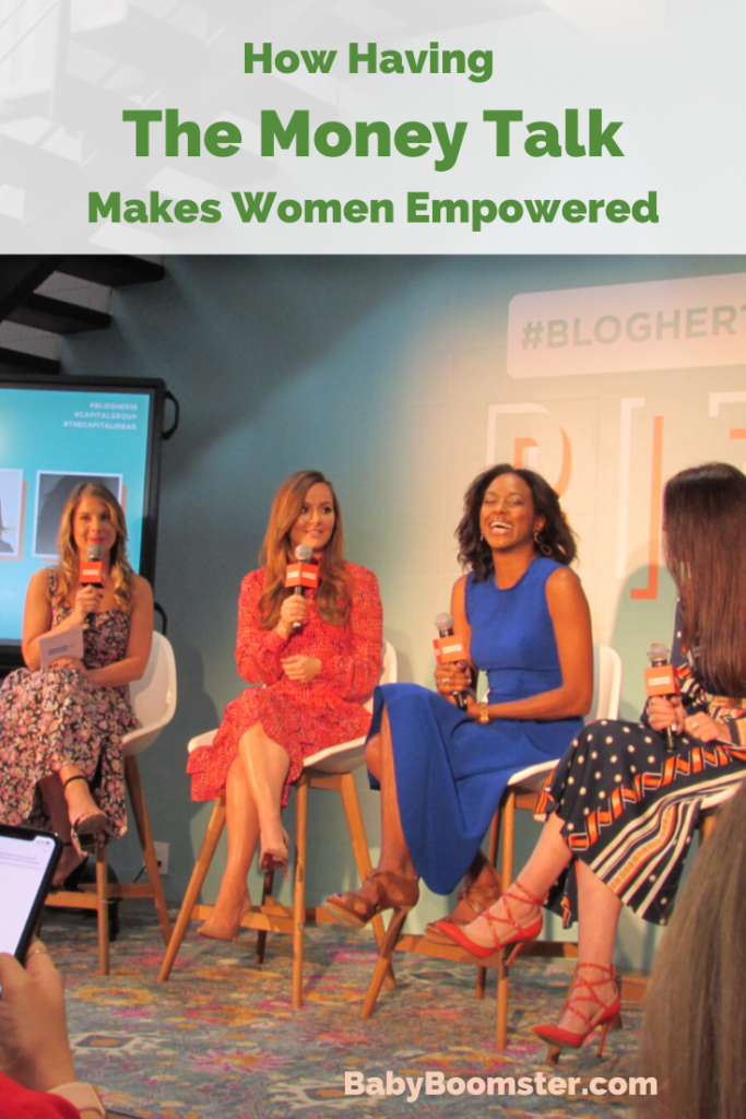 Capital Group Panel at BlogHer19 Biz Seminar How to Have the Money Talk
