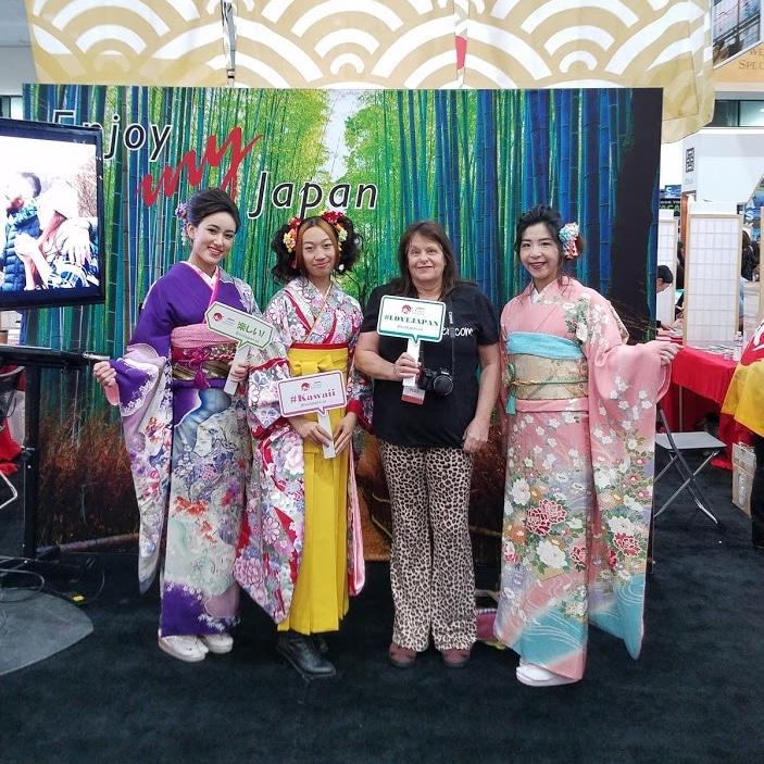 Japan Booth - Travel Adventure Show LA