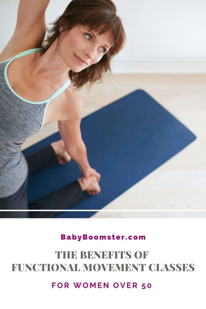 Functional movement classes for women over 50