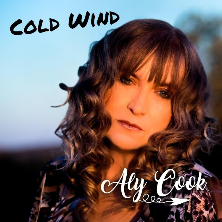 """Aly Cook is a Baby Boomer singer from New Zealand who has just released a new single called """"Cold Wind."""""""