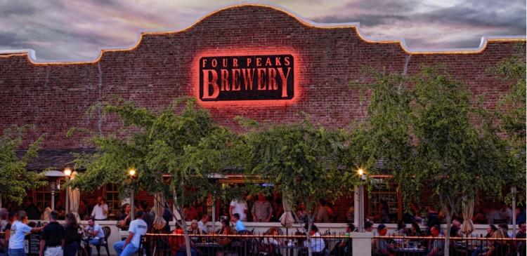 Four Peaks Brewing Co in Tempe, Arizona
