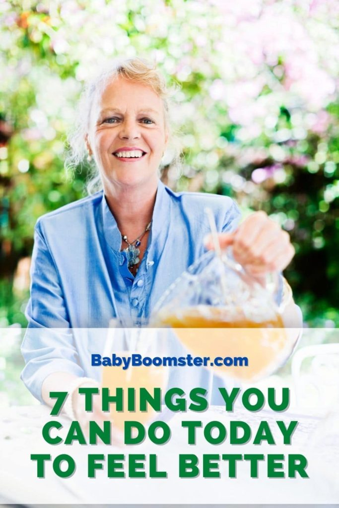 Feel better as you age. 7 tips to help you do so.