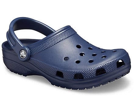 Navy Blue Crocs