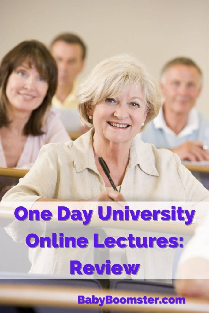 One Day University - college lectures