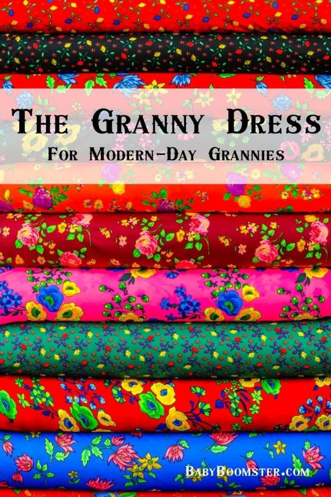 Modern day granny dress