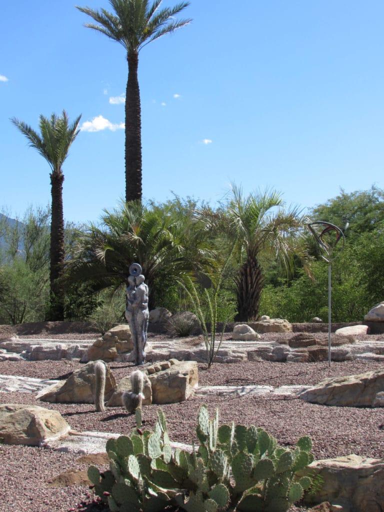 Miraval AZ rock garden