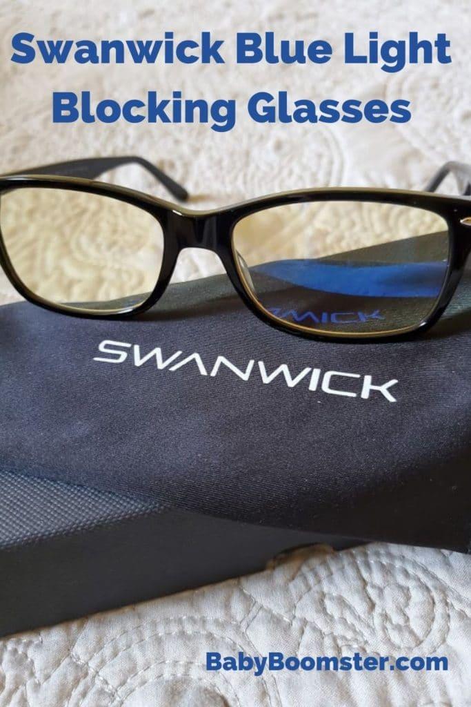 Swanwick blue light blocking glasses
