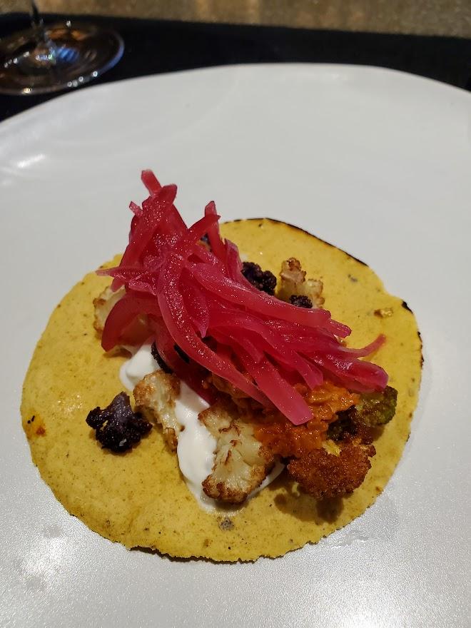 Cauliflower Taco