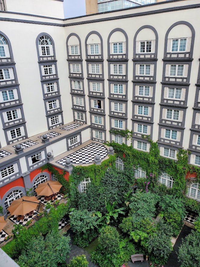 The Four Seasons Hotel in Mexico City