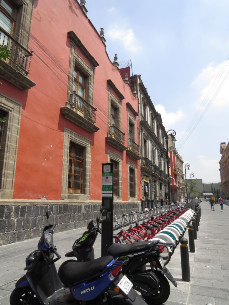 Buildings in Centre Historico Mexico City