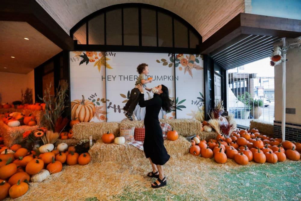 The Beverly Center Pumpkin Patch