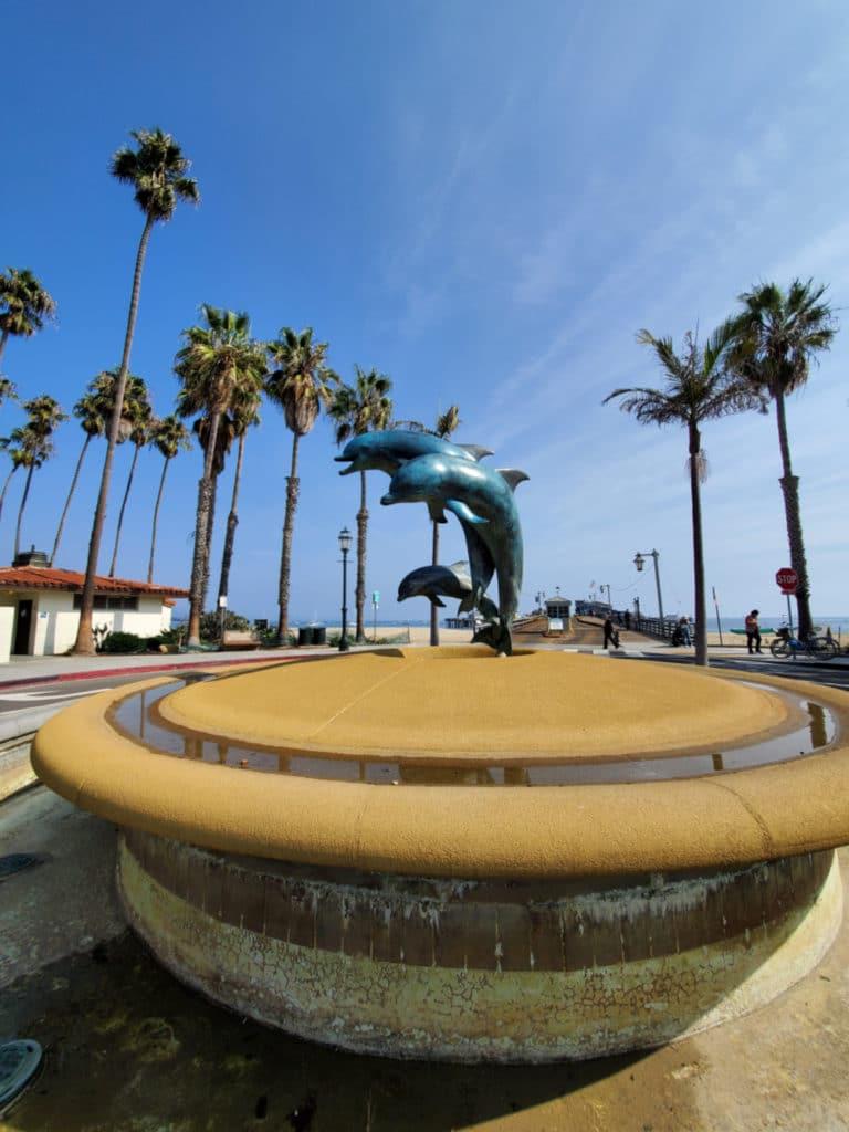 Dolphin Sculpture Stearns Wharf