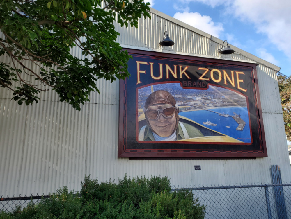 The Funk Zone sign